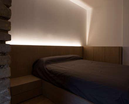 VIVIENDA: Dormitorios de estilo industrial de NOAH MANAGEMENT S.L.
