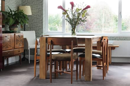Wimbledon Village, SW19: eclectic Dining room by INTERIORS:designed