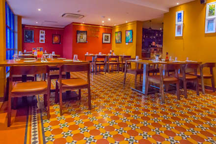 Malaka Spice,Restaurant:  Commercial Spaces by Crafted Spaces
