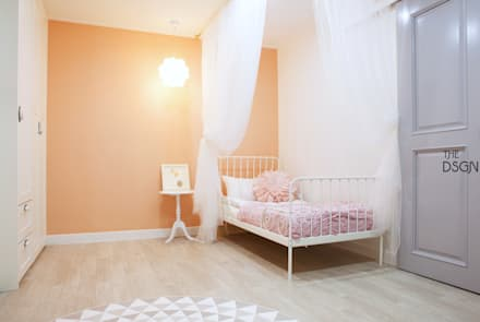 eclectic Nursery/kid's room by 더디자인 the dsgn