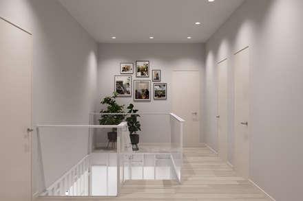 Stairs by Студия архитектуры и дизайна Дарьи Ельниковой