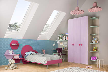 Girls Bedroom by ROOM 66 KITCHEN&MORE