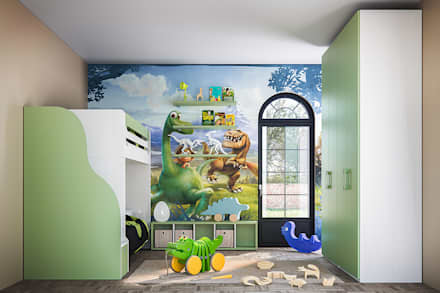 Boys Bedroom by ROOM 66 KITCHEN&MORE