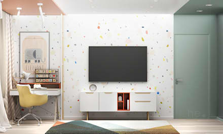 Girls Bedroom by he.d group