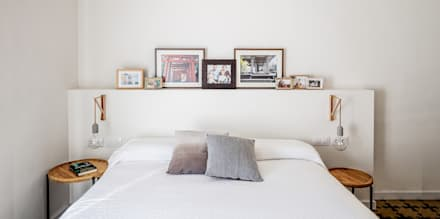 Dormitorio: Dormitorios de estilo ecléctico de Abrils Studio