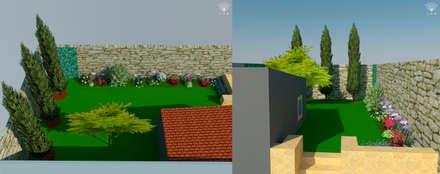 Perspectivas: Jardins ecléticos por JAG arquitetura paisagista