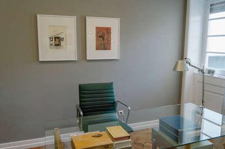 Consultório Psicologia : Escritórios e Espaços de trabalho  por Tangerinas e Pêssegos