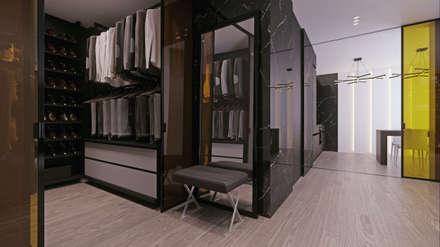 ЖК «Дом на Беговой» | Residential complex «Dom na Begovoy»: Гардеробные в . Автор – Дмитрий Коршунов