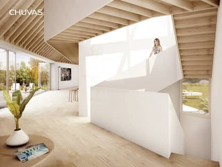 escadas: Escadas  por CHUVAS arquitectura