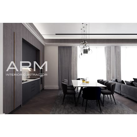 Built-in kitchens by PT Adhi Rajasa Mahawirya