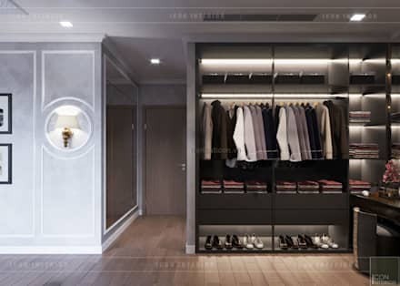 asian Dressing room by ICON INTERIOR