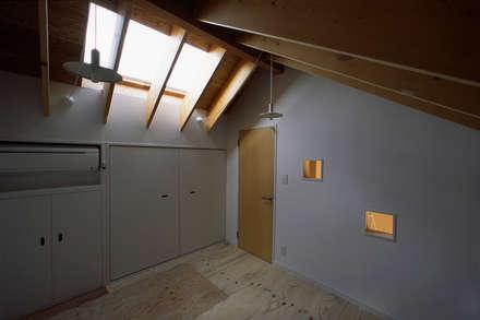 غرفة نوم مراهقين  تنفيذ meenaxy design一級建築士事務所