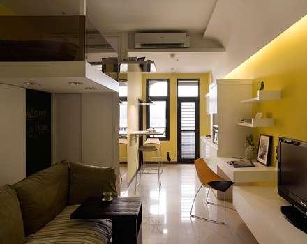 幸福「貓」寓所:  廚房 by 禾光室內裝修設計 ─ Her Guang Design