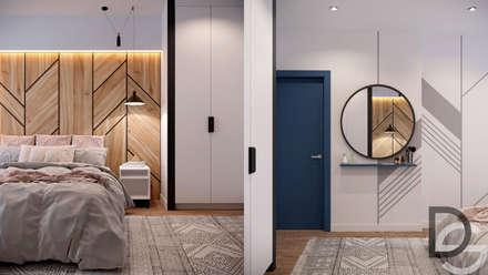 Pasillos y vestíbulos de estilo  por Design Service