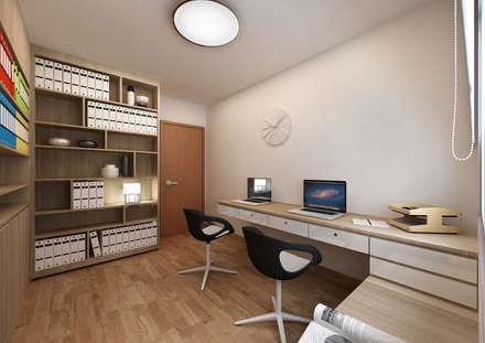 Study Room:  Ruang Kerja by March Atelier
