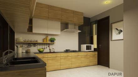 YN House, Interior Design:  Dapur built in by dk.std.id