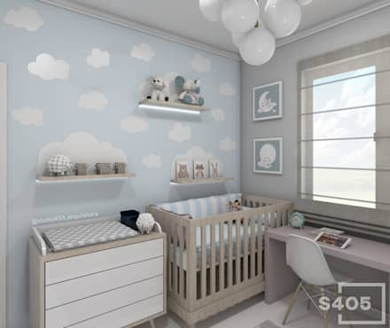 Baby room by STUDIO 405 - ARQUITETURA & INTERIORES