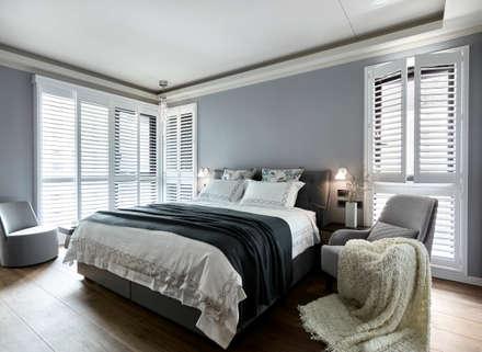 ห้องนอน by 耀昀創意設計有限公司/Alfonso Ideas