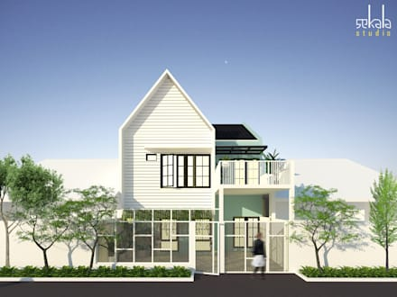 منزل عائلي صغير تنفيذ SEKALA Studio