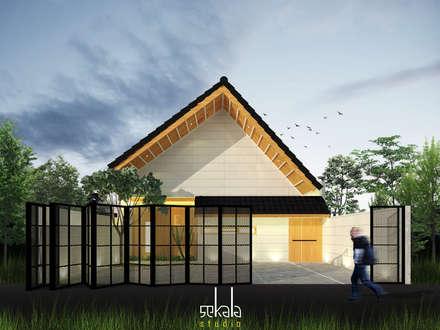 Rumah Ibu Siska:  Rumah tinggal  by SEKALA Studio