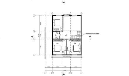 Индивидуальный жилой дом из клееного бруса: Дома на одну семью в . Автор – Home Architect