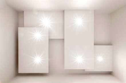 Soffitto Ingresso : Ingresso & Corridoio in stile  di LB Design e Allestimenti
