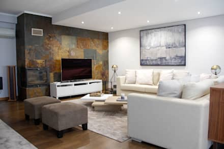 modern Living room by  Rita Salgueiro - Full Ideas