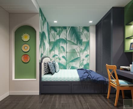 mediterranean Nursery/kid's room by ICON INTERIOR