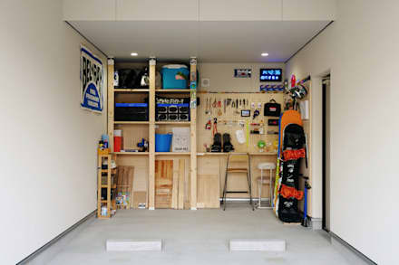 Prefabricated Garage by タイコーアーキテクト