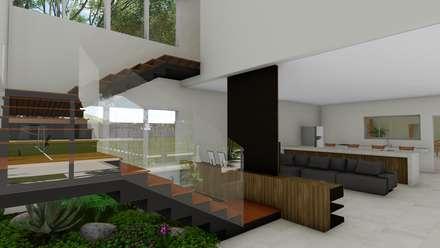 Лестницы в . Автор – Hamilton Turola Arquitetura e Design