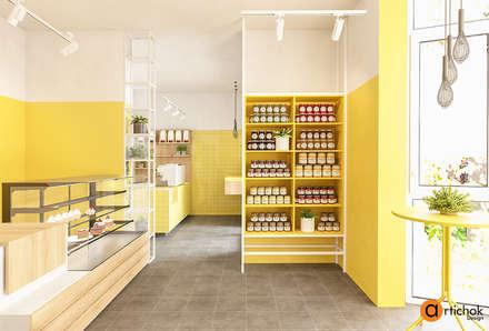 Дизайн кондитерского магазина: Офисы и магазины в . Автор – Art-i-Chok
