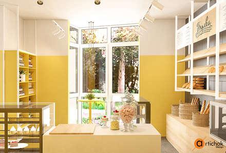 Дизайн кондитерской-кафе: Офисы и магазины в . Автор – Art-i-Chok