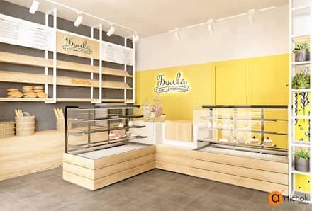 Дизайн кондитерского магазина в Киеве: Офисы и магазины в . Автор – Art-i-Chok