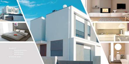 Moradia V2_São Sebastião_Setubal: Moradias  por MTR2 - Arquitectura Design Engenharia