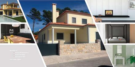 Moradia V3_Vale Janelas_Óbidos: Moradias  por MTR2 - Arquitectura Design Engenharia