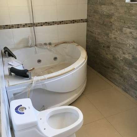 Baños de estilo colonial por VASGO