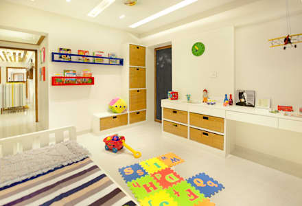 modern Nursery/kid's room by Urbane Storey
