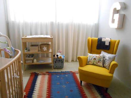 غرفة نوم أولاد تنفيذ Tangerinas e Pêssegos