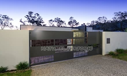 pintu geser by NATUREL METAL FERFORJE