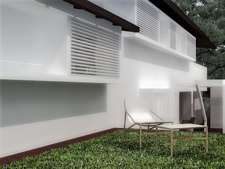 Front garden by RRA Arquitectura