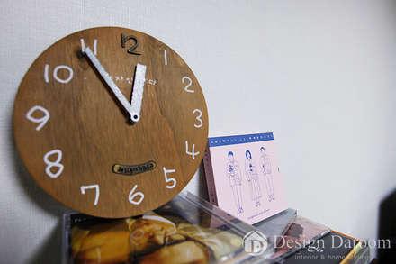 암사동 한강포스파크 25py 서재: Design Daroom 디자인다룸의  서재 & 사무실