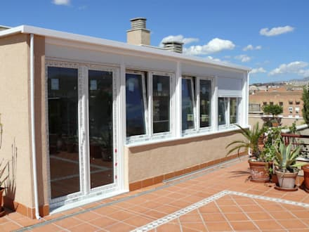 uPVC windows by Metalistería Ballesteros SL