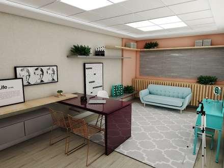 Espaços comerciais  por Studio M Arquitetura