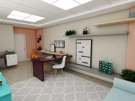 Espacios comerciales de estilo  por Studio M Arquitetura