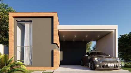 獨棟房 by Vortice Arquitetura