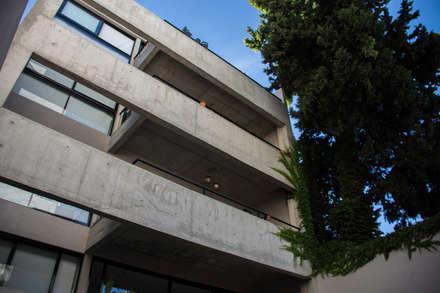 Contrafrente: Casas multifamiliares de estilo  por ARM Arquitectos