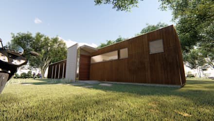 Passive house by Cubo Urbano