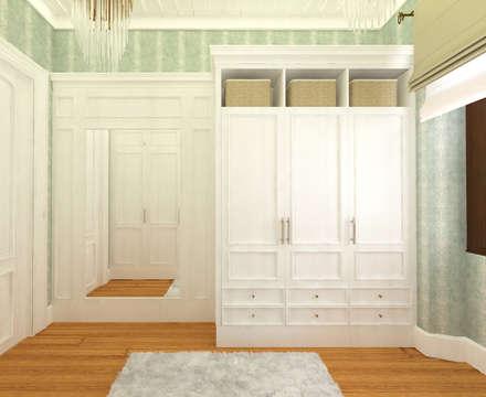 classic Dressing room by Öykü İç Mimarlık