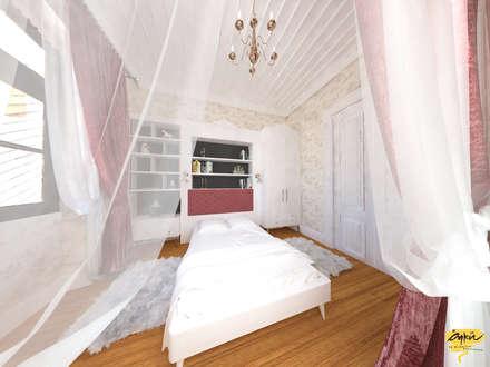classic Bedroom by Öykü İç Mimarlık