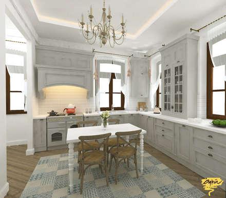 Кухонные блоки в . Автор – Öykü İç Mimarlık